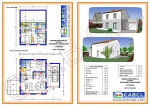 plan maison a etage 3 chambres immobilier pour tous With plan maison 1 etage 3 chambres