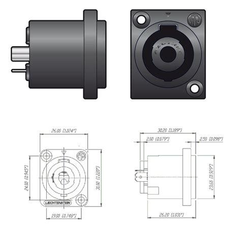 neutrik speakon connector wiring diagram roc grp org