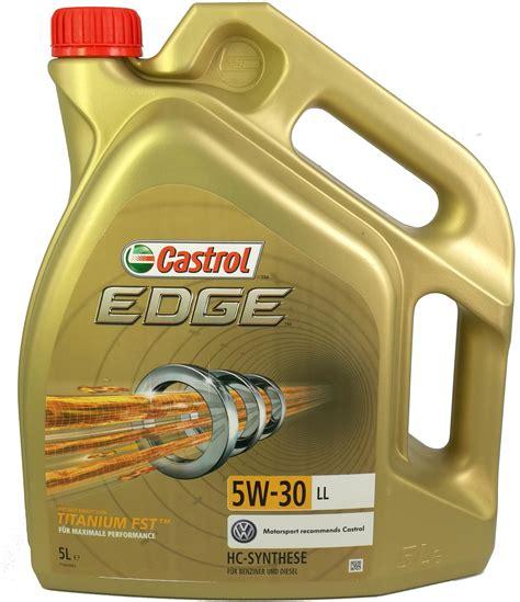 castrol 15669e edge motoröl titanium fst 5w 30 ll 5l motorolja castrol edge titanium fst 5w 30 ll carpart1