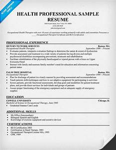 health professional sample resume http resumecompanion With resume writing for healthcare professionals