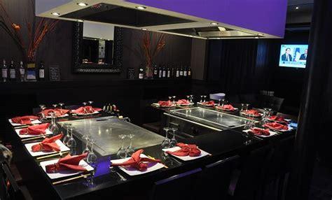pied de table de cuisine le comptoir nippon restaurant japonais de teppanyaki à