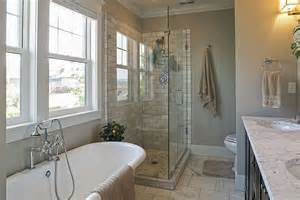 bathroom designs with clawfoot tubs traditional master bathroom with complex marble tile