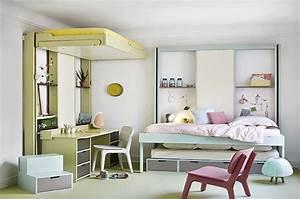 Lit Au Plafond Electrique : lit mezzanine electrique my blog ~ Premium-room.com Idées de Décoration