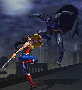 Image - Batman vs Wonder Woman Fan Art.jpg - Injustice ...