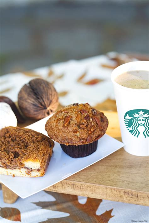 Coffee for canadians, by canadians. Starbucks Cardamom Latte, Maple Pecan Muffin & Classic Coffee Cake Review