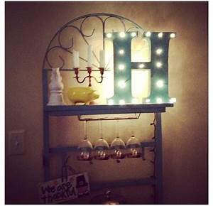 1000 images about diy signs banners art on pinterest With metal letters with lights hobby lobby