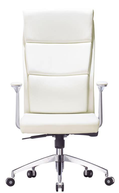 fauteuil bureau cuir blanc chaise de bureau brest but