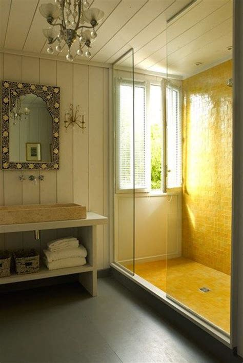Badezimmer Fliesen Gelb by 33 Vintage Yellow Bathroom Tile Ideas And Pictures