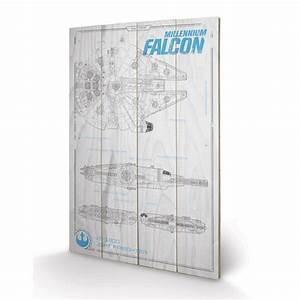 Faucon Millenium Star Wars : panneau en bois plans faucon millenium star wars ~ Melissatoandfro.com Idées de Décoration