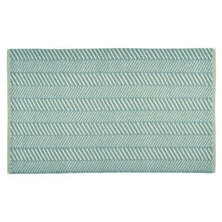 tapis exterieur harry bleu turquoise tapis chic