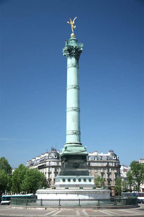 place de la bastille  paris frankreich infode