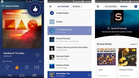 pandora radio for android 10 best free apps for android android authority