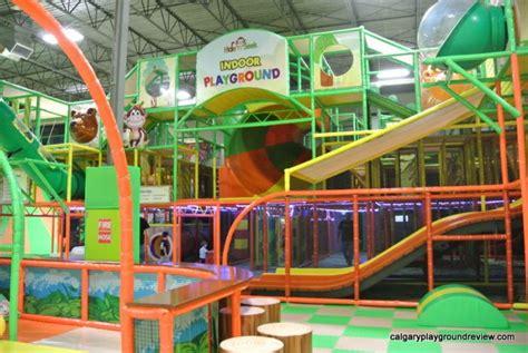 Calgary's Indoor Playgrounds