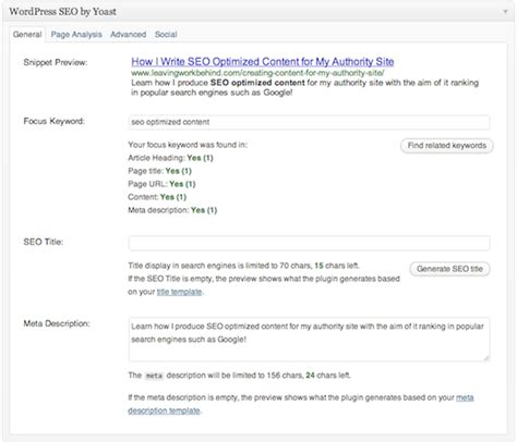 seo optimized content how i create seo optimized content for my authority site