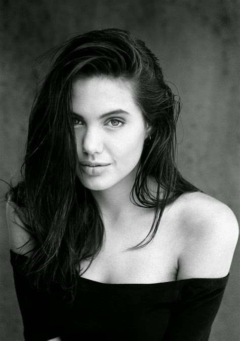 30 Stunning Black And White Photos Of Angelina Jolie From