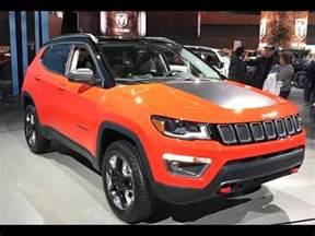 2017 Jeep Trailhawk Orange Compass