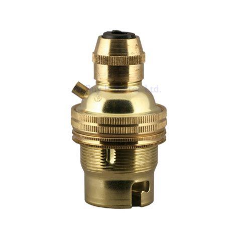 cord grip b22 bc pendant l bulb holder brass buy it