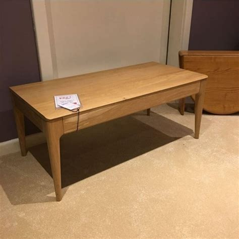 Ercol Romana Coffee Table Clearance  Collection Only. Feng Shui My Desk. Live Edge Table. Short Sofa Table. Mirrored Desk Furniture. Einstein Quote Cluttered Desk. Big White Desk. White Furry Desk Chair. Wmu Help Desk