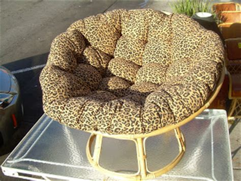 papasan chair cushion pattern uhuru furniture collectibles sold quot cheetah papasan