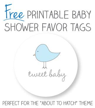 Baby elephant baby shower party ideas | photo 1 of 6. Baby Shower Favor Tag Printables | CutestBabyShowers.com
