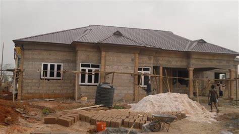 cost  building   bedroom bungalow  foundation properties nigeria