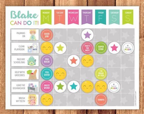 chore chart reward chart  routine chart chores