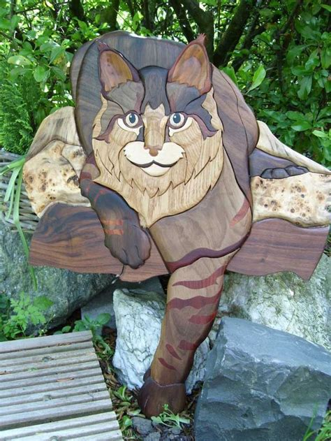 scroll  intarsia woodworking projects plans