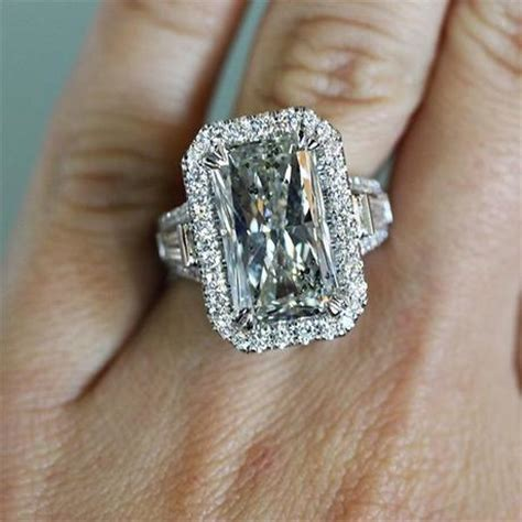 Engagement Ring Eye Candy Large & In Charge  Paperblog. Rectangle Radiant Cut Engagement Rings. Christina Milian Wedding Rings. Clemson University Rings. Bronze Coin Rings. Baby Bathtub Rings. Imitation Diamond Engagement Rings. Samoan Wedding Rings. Orange Plastic Rings