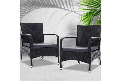 gardeon 2x xl outdoor dining chairs bistro patio furniture