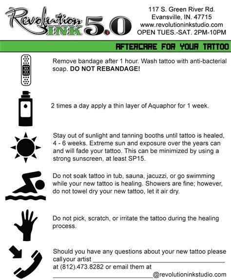 tattoo aftercare  latest tattoo ideas