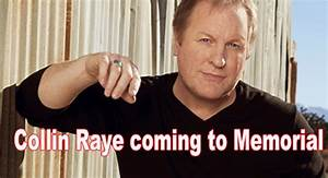 City Bank Auditorium Seating Chart Country Music Star Collin Raye To Perform At Wellington S