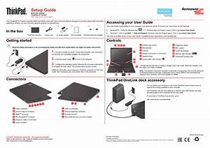 Lenovo Thinkpad X1 Carbon Type 20a7 20a8 User Manual
