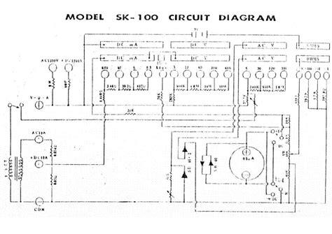 kaise sk100 multimeter sch service manual schematics eeprom repair info for