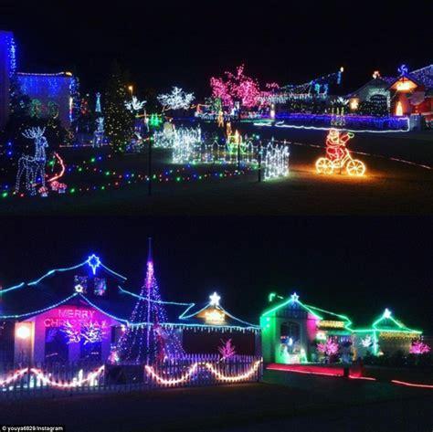 grandlite company christmas lights australian homes light up for spectacular christmas
