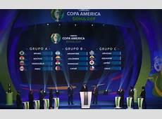 Calendario Copa América 2019 ¡todas las fechas al