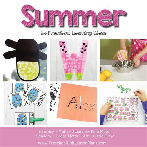 a year of preschool lesson plans bundle where 352 | Preschool Lesson Plans Summer