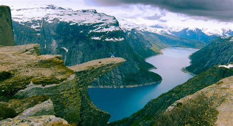 Trolltunga Odda Norway Amazing Places