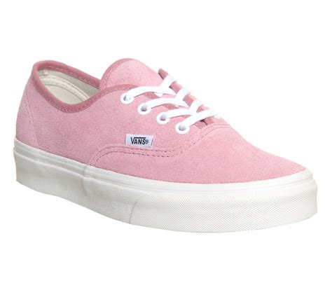 vans authentic vintage suede prism pink unisex sports