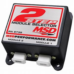 Msd Ignition  2-step Module Selector