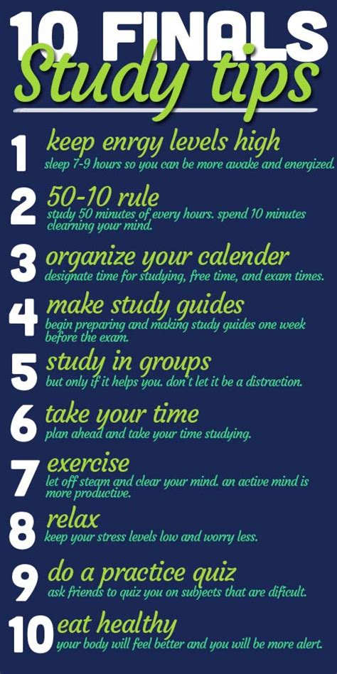 10 Finals Study Tips Oucampus