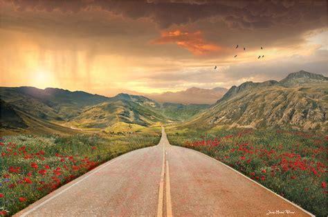 road  photoshop elements  jean michel