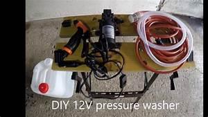 Diy 12v Pressure Washer