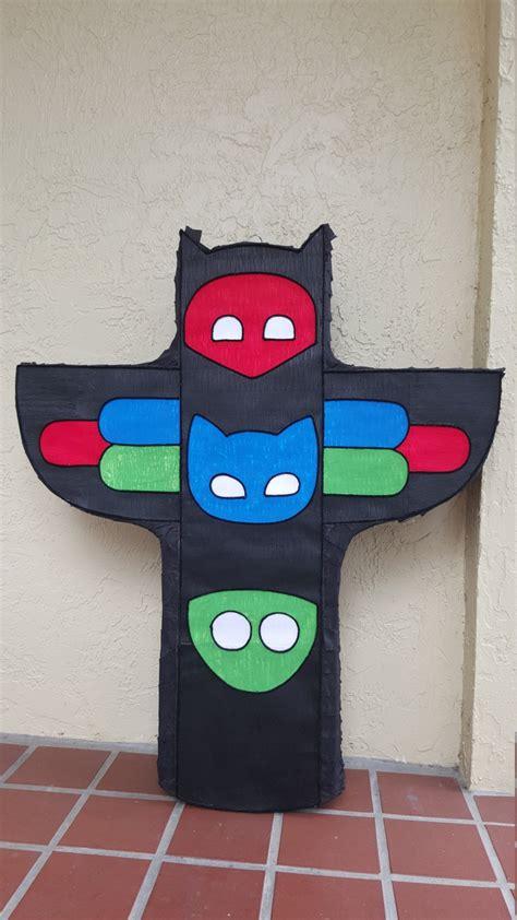 Amazing Pajama Kids Hq Inspired Pj Mask Pinata Party