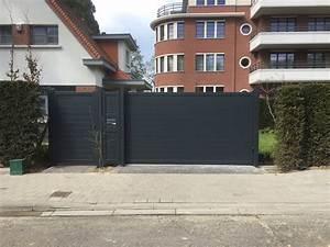 Modele De Portail Coulissant : portail coulissant aluminium tori portails ~ Premium-room.com Idées de Décoration