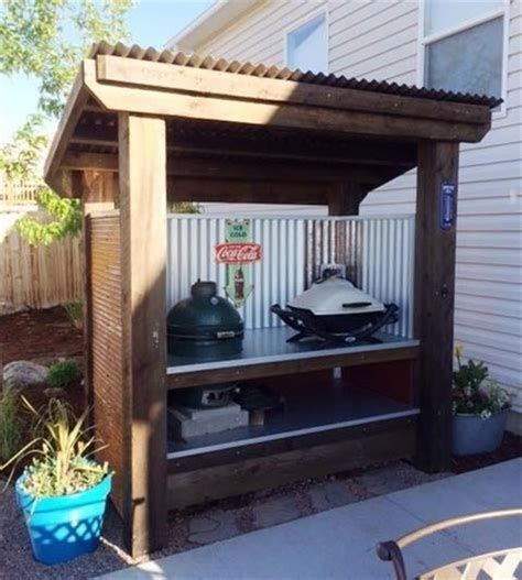 27+ Amazing Outdoor Kitchen Gazebo Ideas