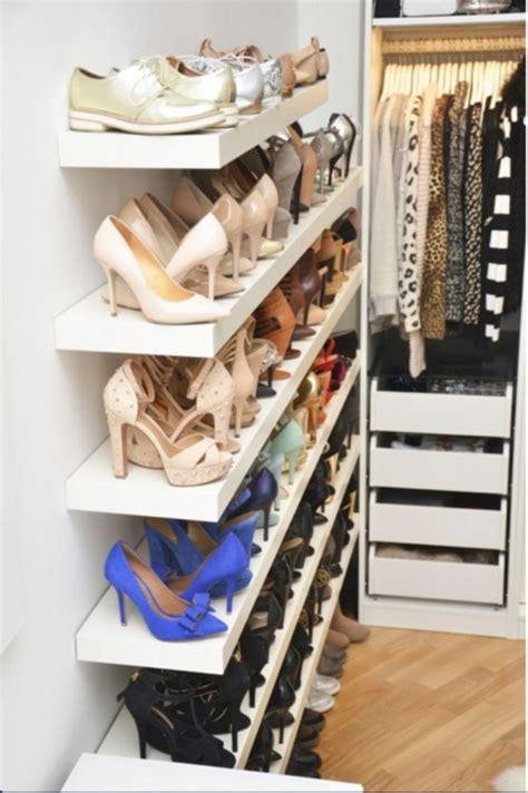 Best 25 Shoe Organizer Closet Ideas On Shoe