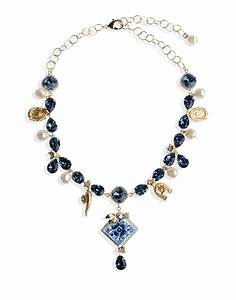 Dolce & gabbana Necklace in Gold | Lyst