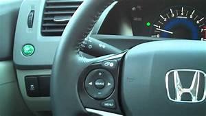 2012 Honda Civic Econ Button