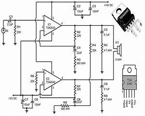 30 Watt Audio Amplifier Based Tda2040