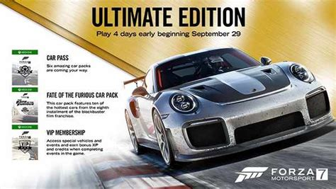 forza motorsport 7 ultimate edition forza motorsport 7 races onto xbox one and windows 10 xbox play anywhere xboxone hq